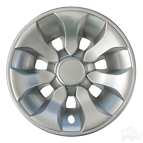 """Wheel Cover, 8"""" Driver Silver"""
