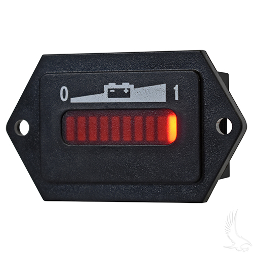 Charge Meter, 36V with Tabs