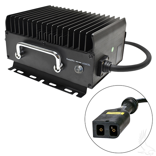 Admiral Advantage High Frequency Golf Car Charger, E-Z-Go Powerwise, 36 V 15 Amp