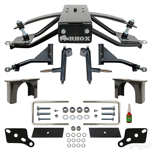 "RHOX 4"" Standard A-Arm Lift Kit, Club Car Tempo, Onward, Precedent"