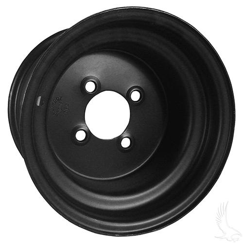 Steel, Black, 10x7 3:4 offset