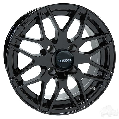 RHOX RX177, Black, 13x6 Centered